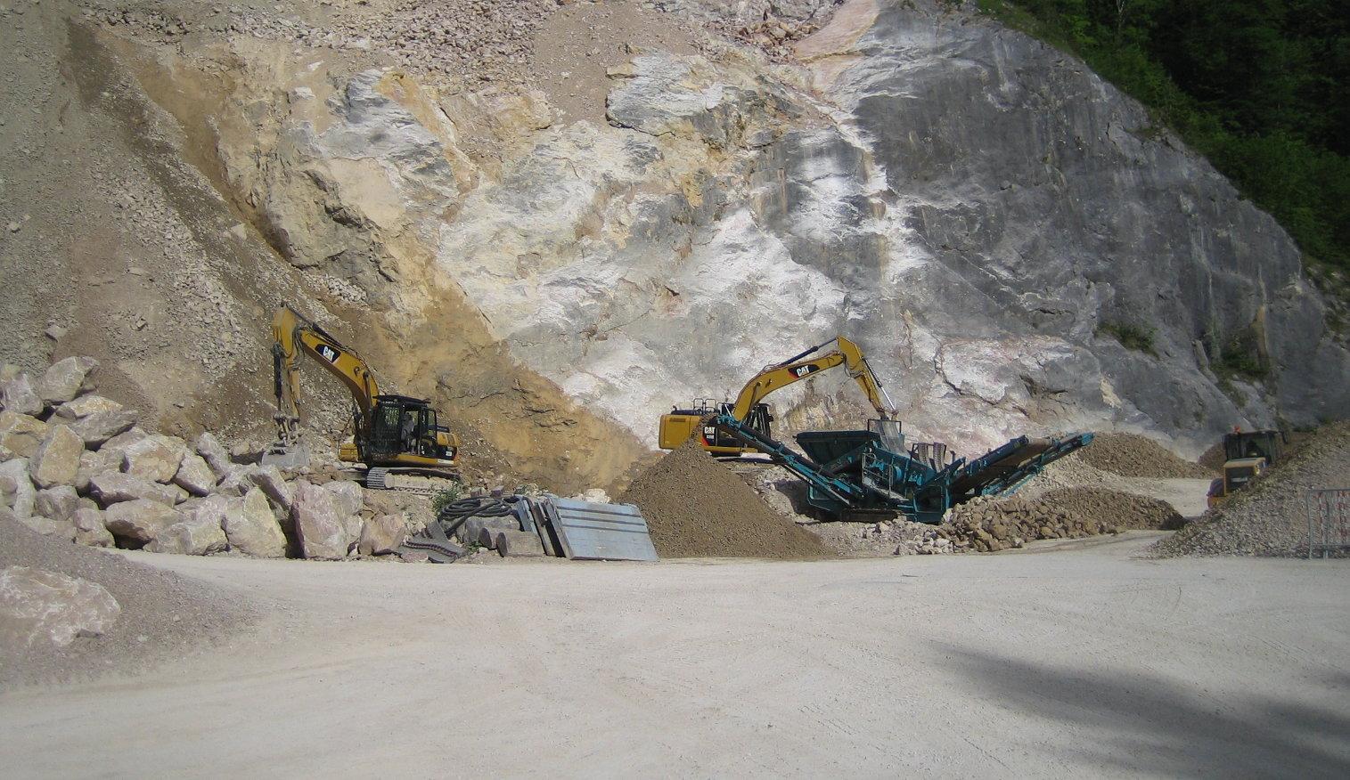 Steinbruch Header